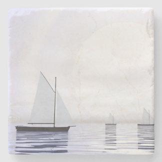 Porta-copo De Pedra Barcos de navigação - 3D rendem