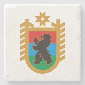 Porta-copo De Pedra Brasão de Carélia