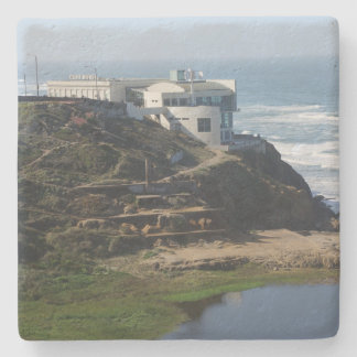 Porta-copo De Pedra Casa do penhasco - San Francisco, porta copos de