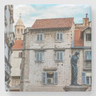 Porta-copo De Pedra Cidade velha, separação, Croatia