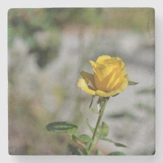 Porta-copo De Pedra Coleção 2 da porta copos do jardim de rosas de 4