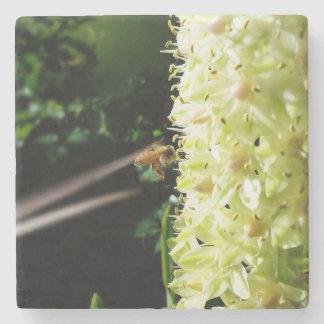 Porta-copo De Pedra Como uma abelha ao mel