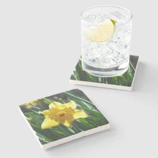 Porta-copo De Pedra Daffodil amarelo 02.3.