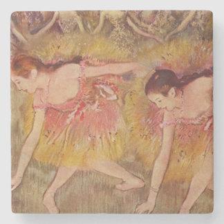 Porta-copo De Pedra Dançarinos de Edgar Degas que dobram-se abaixo das