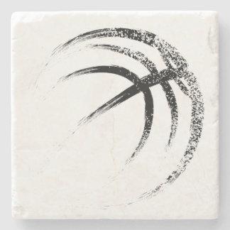 Porta-copo De Pedra Design do basquetebol do estilo do Grunge