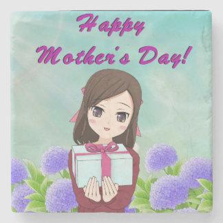 Porta-copo De Pedra Dia das mães atual