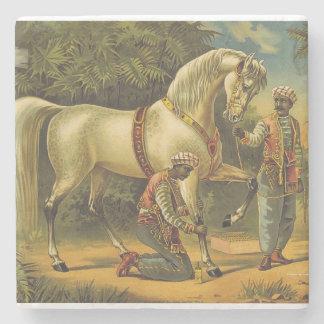 Porta-copo De Pedra Direitos SUPERIORES do cavalo