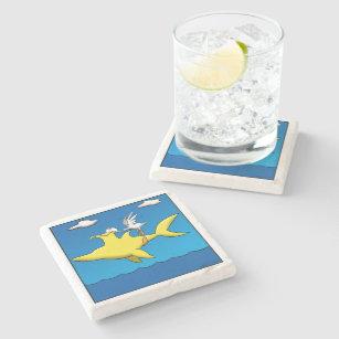 Porta-copo De Pedra Dores do pelicano