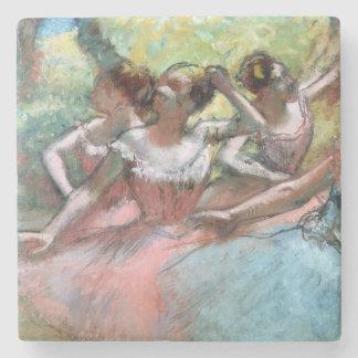 Porta-copo De Pedra Edgar Degas | quatro bailarinas no palco