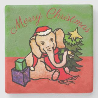Porta-copo De Pedra Elefante encantador dos desenhos animados do papai