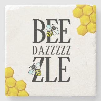 Porta-copo De Pedra Engraçado Bedazzle (d) pelo favo de mel das