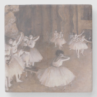 Porta-copo De Pedra Ensaio no palco, 1874 do balé de Edgar Degas  