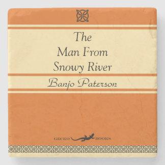 Porta-copo De Pedra Estilo retro de Paterson do banjo