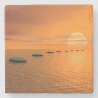 Porta-copo De Pedra Etapas ao sol - 3D rendem
