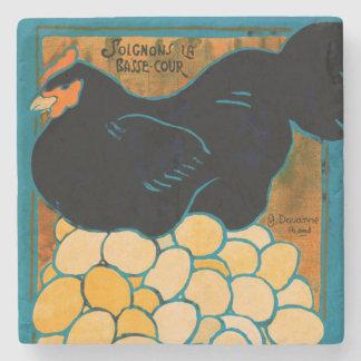 Porta-copo De Pedra Eu sou uma boa galinha WWI da guerra