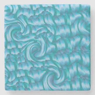 Porta-copo De Pedra Fita das ondas