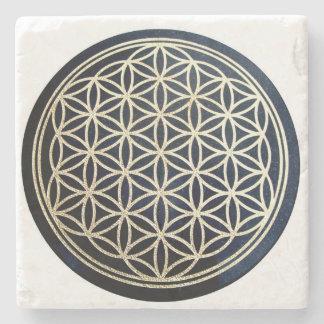 Porta-copo De Pedra Flor da porta copos da pedra da vida