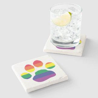 Porta-copo De Pedra Gay-Orgulho-Pata-Impressão