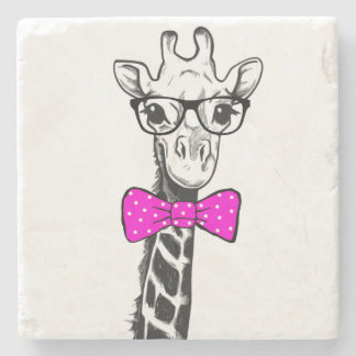 Porta-copo De Pedra Girafa do hipster