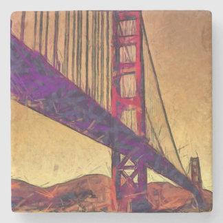 Porta-copo De Pedra Golden gate bridge