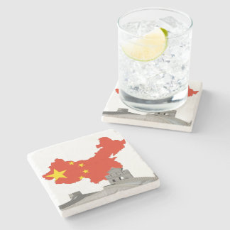 Porta-copo De Pedra Grande Muralha de China