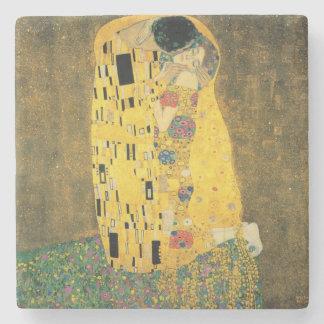 Porta-copo De Pedra GUSTAVO KLIMT - O beijo 1907