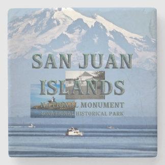 Porta-copo De Pedra Ilhas de ABH San Juan