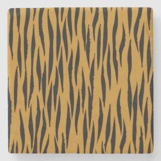 Porta-copo De Pedra Impressão do tigre do divertimento