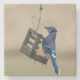 Porta-copo De Pedra Jay azul de balanço