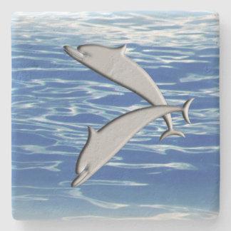 Porta-copo De Pedra Jogo do golfinho