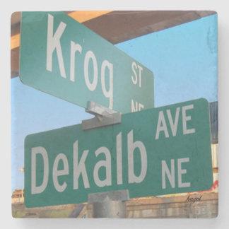 Porta-copo De Pedra Kirkwood, Atlanta, avenida de Krog Dekalb,