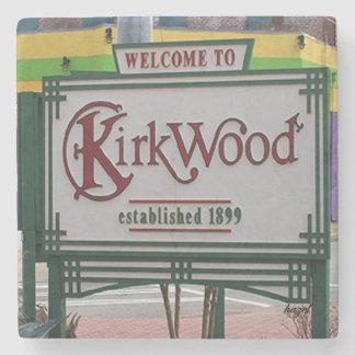 Porta-copo De Pedra Kirkwood, Atlanta bem-vinda, Geórgia. Porta copos