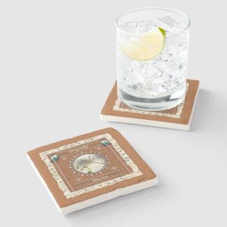 Porta-copo De Pedra Libélula - porta copos de mármore da ilusão