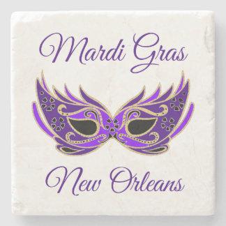Porta-copo De Pedra Máscara de Nova Orleães do carnaval