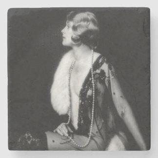 Porta-copo De Pedra Menina de coro dos insensatez de Ziegfeld