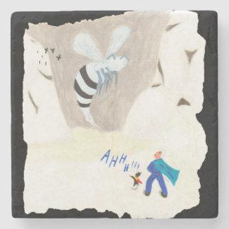 Porta-copo De Pedra Montanha da vespa do gelo