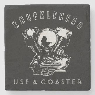 Porta-copo De Pedra Motor da motocicleta do Knucklehead de Harley do