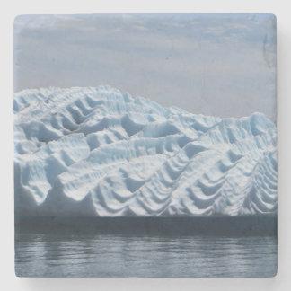 Porta-copo De Pedra Ondinhas na porta copos do iceberg de Alaska
