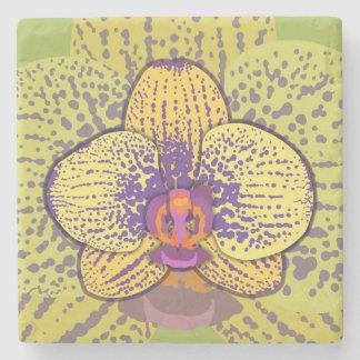 Porta-copo De Pedra Orquídea 1