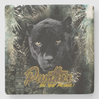 "Porta-copo De Pedra ""Pantera no Prowl """