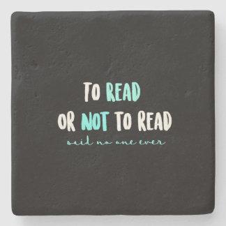 Porta-copo De Pedra Para ler ou não ler…