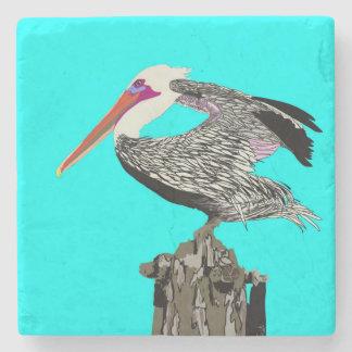 Porta-copo De Pedra Pelicano