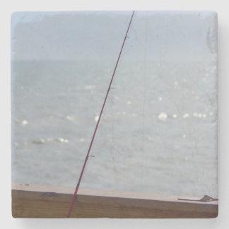 Porta-copo De Pedra Pesca do cais do cacau