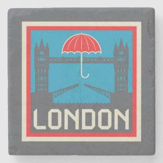 Porta-copo De Pedra Ponte de Londres com guarda-chuva