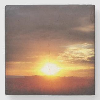 Porta-copo De Pedra porta copos do nascer do sol