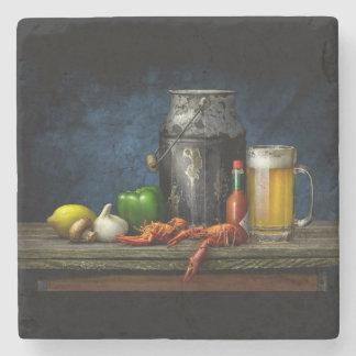 Porta-copo De Pedra Porta copos dos lagostins & da cerveja