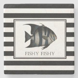 Porta-copo De Pedra porta copos dos peixes