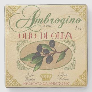 Porta-copo De Pedra Porta copos italiana da arte da etiqueta do olhar