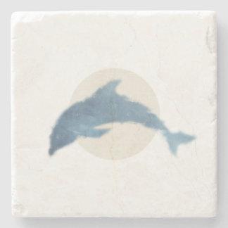 Porta-copo De Pedra Porta copos mínima do golfinho
