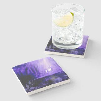 Porta-copo De Pedra Portador dos desejos - veado branco